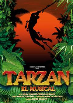 """""""Tarzán"""" el musical. El diseño de iluminación en """"video""""."""