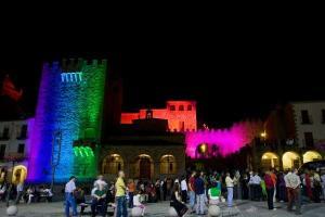 Torre bujaco- Plaza Mayor Caceres