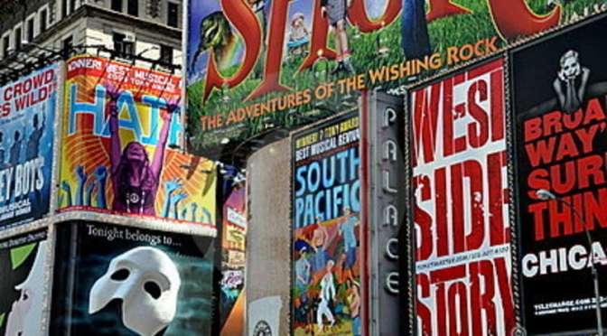 CARTELERA de Teatro, danza, músicales y conciertos.. de Londres, New York y Los Ángeles