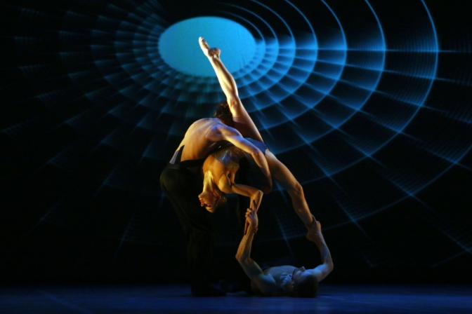 "«ЛАБИРИНТ» / ""Labyrinth"" Moscow Ballet  (Lighting design: L. Perdiguero)"
