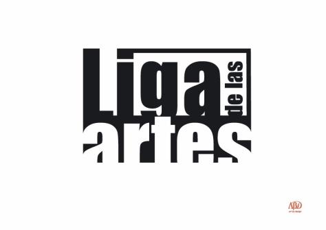 LOGO LIGADE LAS ARTES OK.Negativo