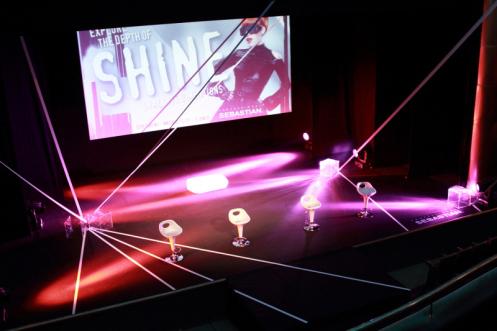 Teatro y Nuevas Tecnologías (realidad virtual-3D) / Diseño iluminación: Luis Perdiguero / Bit arTék