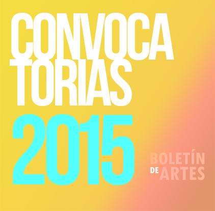 Convocatorias Artes Escénicas (Noviembre II)