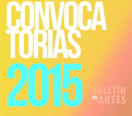 Convocatorias Artes Escénicas – Verano 2015 (Junio)
