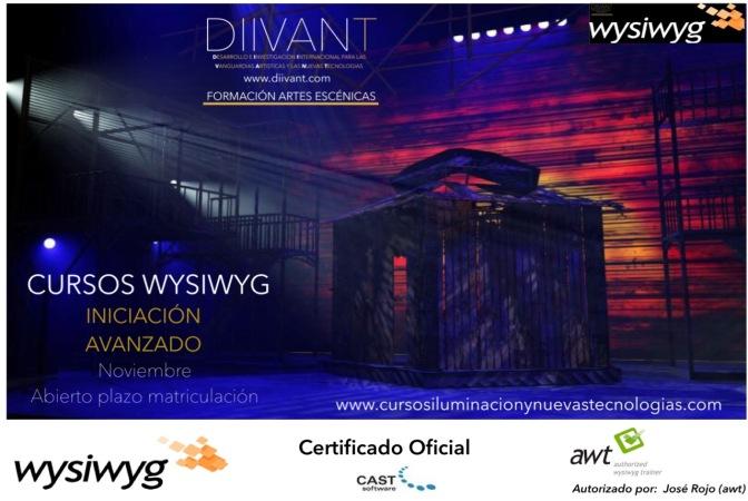 Cursos Wysiwyg en Noviembre (Certificado Oficial)