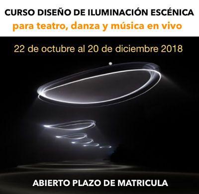 CURSO DISEÑO ILUMINACIÓN ESCÉNICA- TEMARIO, ESTRUCTURA Y PROFESORES – DiiVANT