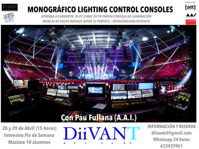 Monográfico Lighting Control Consolas / Convierte tu pc o mac en tu propia consola de iluminación