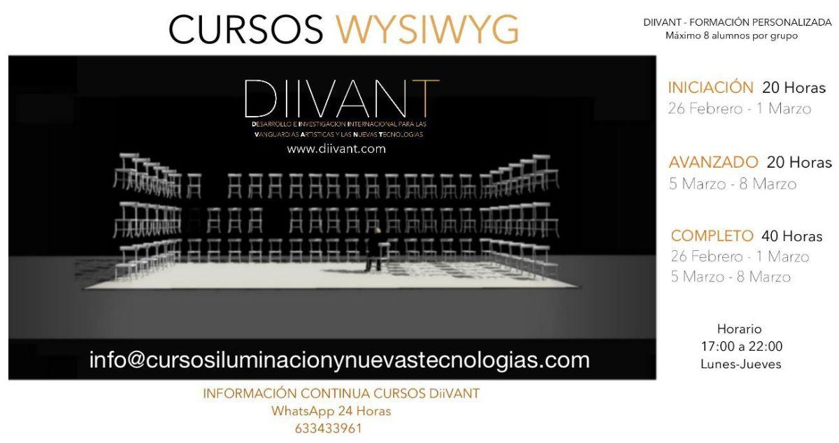 Cursos Wysiwyg (iniciación y avanzados)