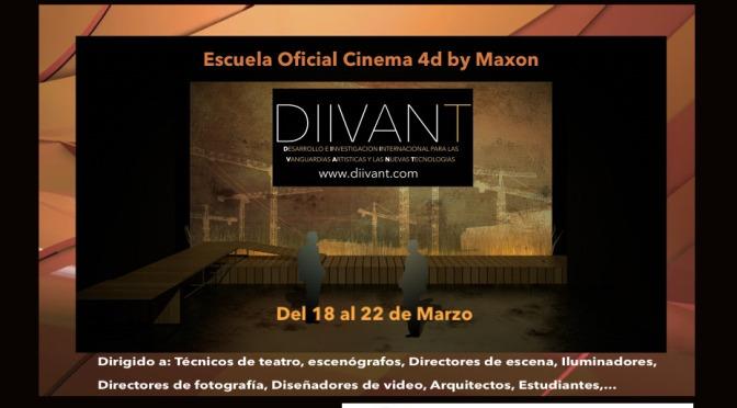CURSO CINEMA 4D en DiiVANT