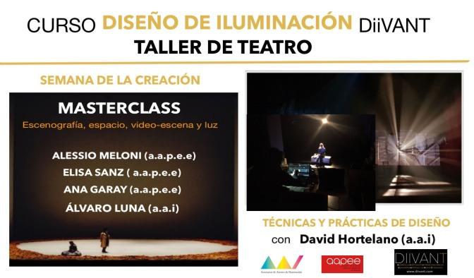 TALLER  DE DISEÑO  TEATRO – DiiVANT