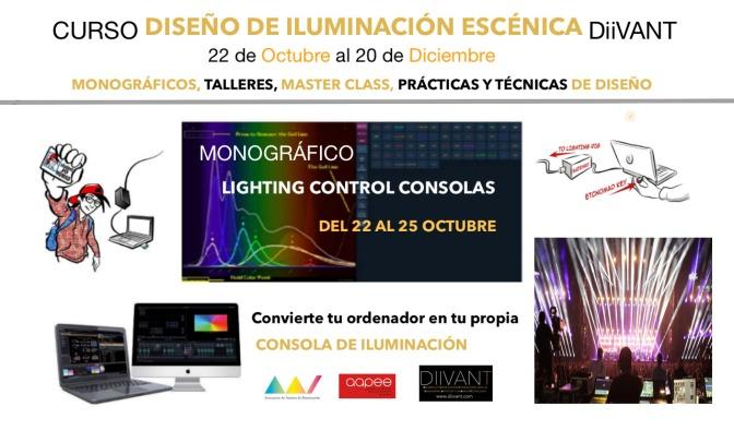 MONOGRÁFICO LIGHTING CONTROL CONSOLAS -DiiVANT